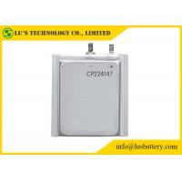China Limno2 Primary Ultra Thin Battery For Radio Alarm Equipment / Sensors CP224147 on sale
