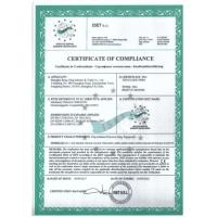 Shanghai Rong Xing Industry & Trade Co. Ltd. Certifications