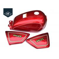 Buy cheap Standard Size GN125 Other Motorcycle Parts Custom Color Iron 9L Motorcycle Fuel Tank product