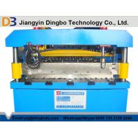 Color Steel Corrugated Iron Rolling Machine Touch Screen CE