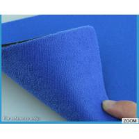Buy cheap 3MM - 7MM SBR Rubber Chemical Resistance With Shiny Terry Nylon Fabric product
