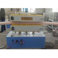 Buy cheap PP PE Plastic Pipe Production Line , PE Carbon Spiral Reinforcing Tube Extruder Making Machinery from wholesalers