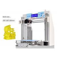 China Fast Heating Bed High Precision 3D Printer , ABS Filament 3D Printer For Prototyping on sale