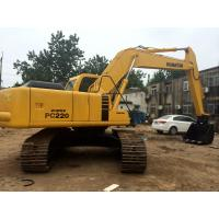 Buy cheap Heavy Duty Second Hand Excavator , Durable Used Komatsu Excavator Pc220 product