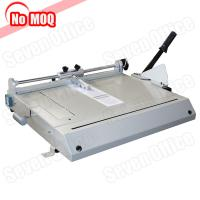 Buy cheap NO MOQ office manual hard cover making machine with cutting function factory from wholesalers