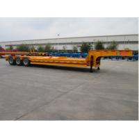Buy cheap Low Bed Container Delivery Trailer Light Tare Weight CIMC Concave Type product