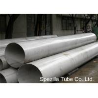 Buy cheap ASTM A358 Class 1 TP316L Stainless Steel Round Tubing 1.4404 SS Pipe Welding from wholesalers