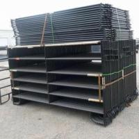 Buy cheap Black Painted Corral Horse Panel product