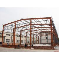 Buy cheap Prefabricated Industrial Building Steel Structure Shed Lightweight Fire Resistance product