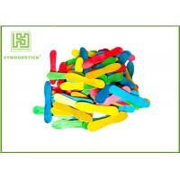 Buy cheap Colorful Wooden Craft Sticks Kids DIY Tools With FSC Certificated product