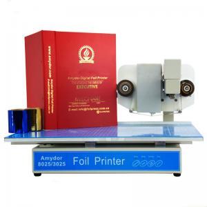China A3 A4 size gold foil printer /digital gold foil printer for notebooks on sale