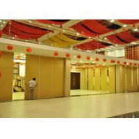 Quality Multi-Purpose Room Movable Partition Acoustic Room Dividers Aluminium Frame for sale