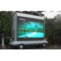 Buy cheap Electronic P10 IP65 1 R,1G,1B 5000K Led Truck Mobile Billboard Screens For Advertising product
