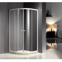 Buy cheap White Quadrant Curved Corner Shower Enclosure Convenient Comfort Free Standing Type product