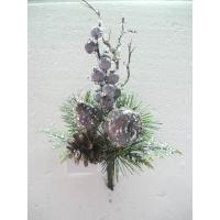 Buy cheap Christmas Silk Floral Arrangements Artificial Decorative Flowers and Plants with Fruits product