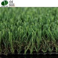 Buy cheap Synthetic Plastic Lawn Grass With Title 4 Colors Environment Friendly product