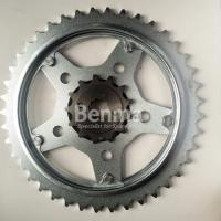 Buy cheap 1045 Steel Heattreatment Endurance Motorcycle Sprockets kits Black and Silver Color product