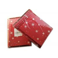 Buy cheap Rigid Envelope Aluminium Metallic Bubble Mailer With Stunning Red Chirstmas Designs product