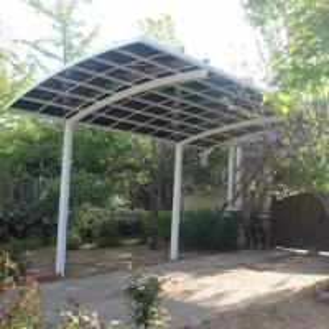 Buy cheap aluminium frame car parking awnings sun canopy strong aluminium carport product