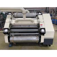 Buy cheap SF-280 Corrugated Paperboard Single Facer Machine Adopts Vacuum Suction Structure product