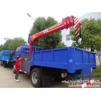 China Forland dump truck with crane tipper trucks  Palfinger Telescopic boom 7T truck mounted crane Whatsp:8615271357675 on sale