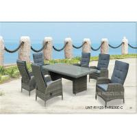Buy cheap All Weather Wicker Garden Table And Chairs For Dining / Meeting UV Protection product