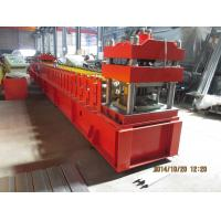 Buy cheap European Metal Door Slot Profile Roll Forming Machine With Automatic Punching 3 - 5 m / min product