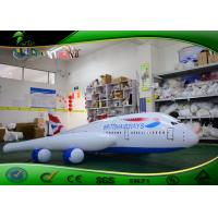 Buy cheap Customized Advertising Model Inflatable Plane , Large Inflatable Airplane For Display product