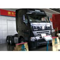Buy cheap Euro 2 Emission HOWO 6x4 Tractor Truck , 420HP Engine Truck Tractor Head product