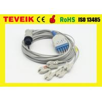 Buy cheap 5 leads ECG cable with snap for Mindray patient monitor product