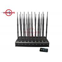 Buy cheap 47W 18 Antennas Mobile Phone Signal Jammer All In One Design Non Stop Working product