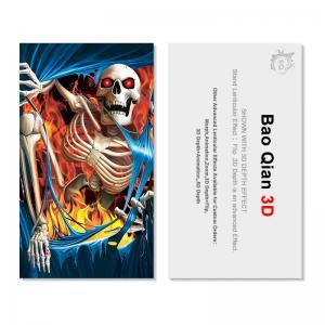 Buy cheap Plastic PET 3D Flip Lenticular Card Printing For Hotel , Restaurant product