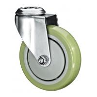 "Buy cheap 5""X1-1/4 Customized PU Caster Wheel With Swivel Kingpin Fitting product"