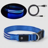 Buy cheap USB Rechargeable Flashing Dog Collars product