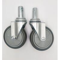 Buy cheap Carts 5 Inch Caster Wheels , Shelf Metal Food Service Equipment Casters product