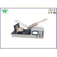 Buy cheap Flexible Material Flammability Class Testing Equipment With 500W Burner from wholesalers