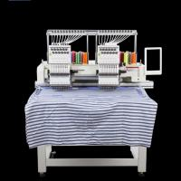 Buy cheap Cnc Type Digital Double Head Embroidery Machine Ladies Suit Saree Tufting Curtain Design product