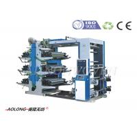 Buy cheap Six Color Non Woven Flexo Printing Machinery For Vest Bag / Shopping Bags CE / ISO9001 from wholesalers