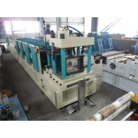 Buy cheap Automatic Sheet Metal Roll Forming Machine Z Purlin For Cutting product