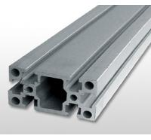 China Silver Industrial Aluminium Profile , Alloy 6061 T6 Aluminium Extrusion on sale