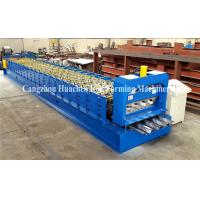 Buy cheap Steel Stucture Decking Floor Deck Roll Forming Machine High Efficiency product