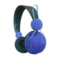 China Hi-fi On Ear Or Over Ear Headphones With Leather Pad , Adjustable Headband on sale