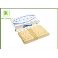 Buy cheap Adult / Children Sterile Wooden Tongue Depressor In Bulk 150 * 18 * 1.6mm Size product