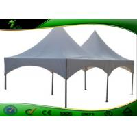 Buy cheap 3 * 3M Outdoor White Folding Canopy Tent Durable Windproof For Trade Show / Wedding product