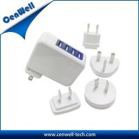 Buy cheap cenwell interchangeable plug 5v 3.1a travel charger product
