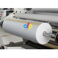 Double Side Corona Treated Thermal Laminate Roll , Spot UV Varnish Thermal Film