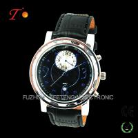 Buy cheap Cool Stylish Leather Strap Quartz Wrist Watch for Men from wholesalers