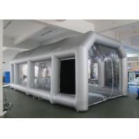 Buy cheap Outdoor Inflatable Spray Booth With Two Blowers Removeable Filter product