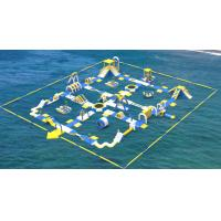 Buy cheap Giant Inflatable Water Toys Game / Inflatable Outdoor Water Theme Park Manufacturer product