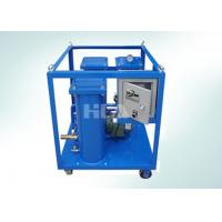 Buy cheap Triple Stage Filtering Portable Oil Purifier Machine With Electric Control Box product